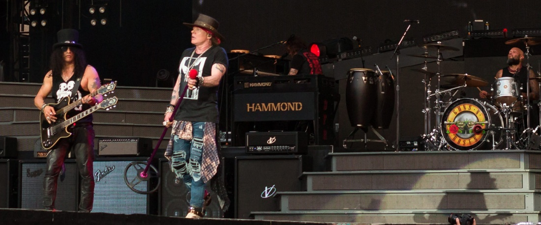 Guns N' Roses playing live